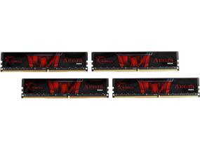 G.SKILL Aegis 64GB (4x16GB) DDR4 DRAM 2133MHz C15 Memory Kit (F4-2133C15Q-64GIS)