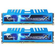 G.SKILL Ripjaws X Series 16GB (2x8GB) DDR3 1600MHz CL9 Dual Channel  Memory Kit 1.5V (F3-1600C9D-16GXM)