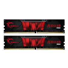 G.SKILL Aegis  16GB (2x8GB) DDR4 3000MHz CL16 Dual Channel Memory Kit 1.35V (F4-3000C16D-16GISB)