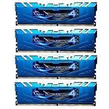 G.SKILL Ripjaws 4  Series 16GB (4x4GB) DDR4 3000MHz CL15 Quad Channel Memory Kit 1.35V (F4-3000C15Q-16GRBB)