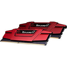 G.SKILL Ripjaws V  Series 16GB (2x8GB) DDR4 2400MHz CL15 Dual Channel Memory Kit 1.2V (F4-2400C15D-16GVR)