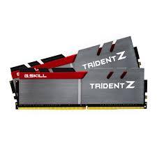 G.SKILL Trident Z  Series 32GB (2x16GB) DDR4 3000MHz CL15 Dual Channel Memory Kit 1.35V (F4-3000C15D-32GTZ)