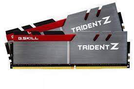 G.SKILL Trident Z  Series 16GB (2x8GB) DDR4 3200MHz CL16 Dual Channel Memory Kit 1.35V (F4-3200C16D-16GTZB)