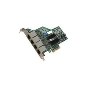AddOn Intel E1G44HT Compatible Ethernet NIC w/4 Port 1Gbase-T PCIex4 - PCI Express x4 - 4 Port(s) - 4 x Network (RJ-45)
