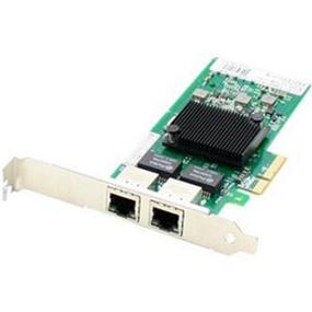 AddOn Gigabit Ethernet Card - PCI Express - 2 Port(s) - 2 x Network (RJ-45) - Twisted Pair PCIEX4 2XRJ-45 NETWORK ADAPTER