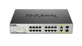 D-Link 18-Port Unmanaged Desktop PoE Switch (DES-1018MP)