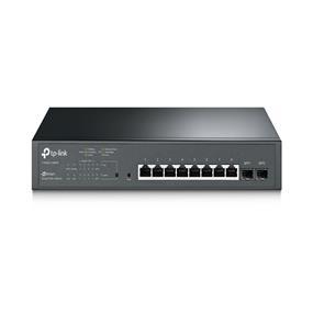 TP-LINK JetStream 8-Port Gigabit Smart PoE+ Switch with 2 SFP Slots (T1500G-10MPS)