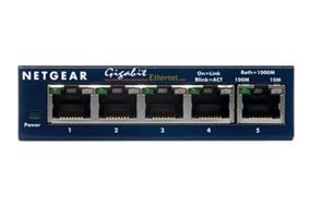 Netgear GS105NA ProSafe 5-Port Gigabit Desktop Switch