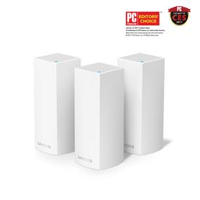 Linksys Velop Tri-band AC6600 Whole Home WiFi Mesh System, 3-Pack  (WHW0303-CA)
