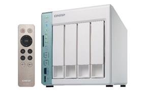 QNAP NAS TS-451A-4G-US 4-Bay Celeron N3060 4GB 4x3.5/2.5inch SATA USB Brown Box (TS-451A-4G-US)