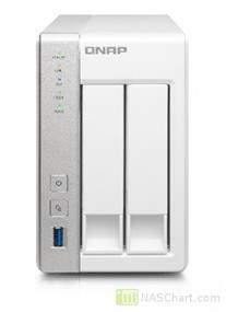 QNAP Network Attached Storage TS-231P-US 2 Bay ARM Cortex A15 Dual Core 1GB SATA 6Gb/s USB3.0 HDD Hot-Swappable (TS-231P-US)