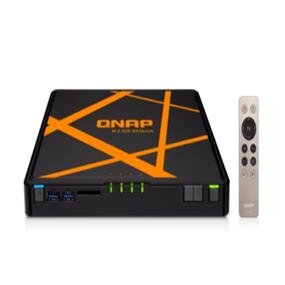 QNAP Storage TBS-453A-4G-US NASBook SSD 4Bay M.2 Dual HDMI 2x2GB DDR3L USB (TBS-453A-4G-US)