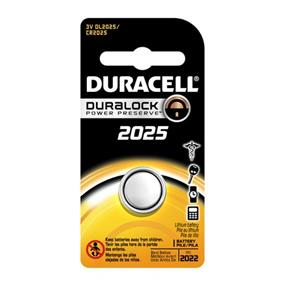 Duracell 3V 2025 Coin Lithium  Battery