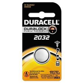Duracell 3V 2032 Coin Lithium  Battery
