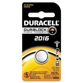 Duracell 3V 2016 Coin Lithium Batteries