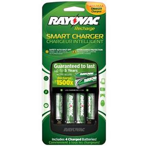 Rayovac PS334-4B GEN Smart Charger
