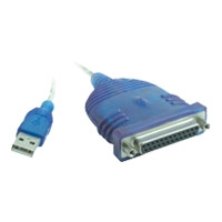 Cables To Go USB to DB25 IEEE-1284 Parallel Printer Adapter Cable - 6 ft. (16899)