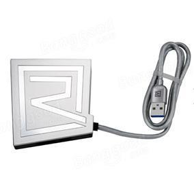 ICAN  Remax RU-U7 Rhyden 3 Port 3.0 USB with TF/SD Card Reader - Silver (RU-U7-Silver)
