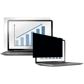 "Fellowes PrivaScreen Blackout Privacy Filter - 12.1"" Wide Black - For 12.1""LCD - TAA Compliant 16:10 PRIVACY FILTER"