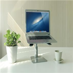 """iCAN Anti-slip """"A"""" shaped silicone pads metal plate Universal Laptop Stand(STB-071)"""