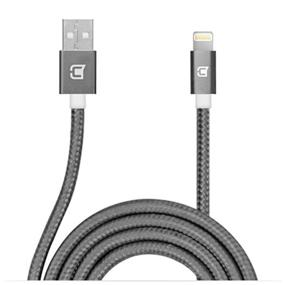 Caseco Apple Certified Nylon Braided Lightning Cable - 1 Meter - Space Grey
