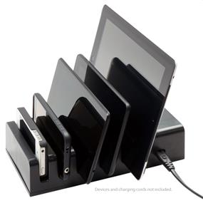 VisionTek 5 Device Charging Station (900855) - Total Output: 8 Amp
