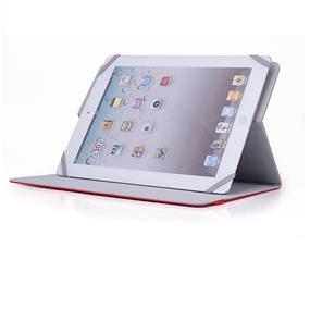"MIRACASE  Universal booklet case for tablet size up to 185 x 261 mm, Red (MA-8707-10"")"