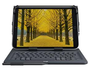 Logitech UNIVERSAL FOLIO Case with integrated Bluetooth keyboard for 9-10 inch-Apple, Android & Windoes tablets