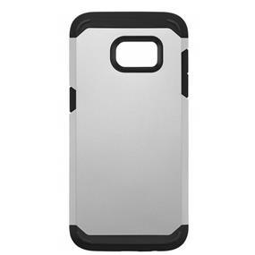 Blu Element Samsung Galaxy S7 Dual Layer Silver BDLS7SL
