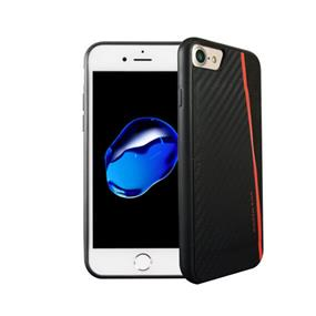 Viva Madrid Grafito Racha Card Case For iPhone 7 - Black/Red(VIVA-IP7CC-GRCRED)