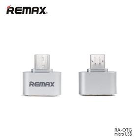REMAX OTG Micro To USB Adapter - Silver (RA-OTG)