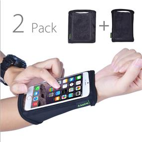 Avantree Forearm armband - Medium Size - 2 Pack (Fits for iPhone 6/ iPhone 5s,5,4s, Galaxy S3,S4 )