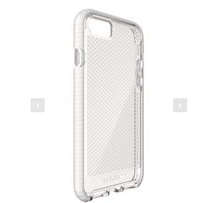 Tech21 Evo Check Case for iPhone 7- Clear/White