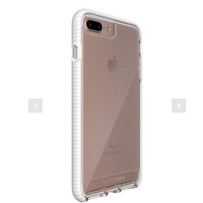 Tech21 Evo Check Case for iPhone 7 Plus- Clear/White