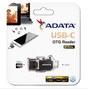 Adata USB-C (USB-A 3.1) OTG READER