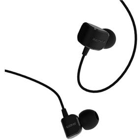 Remax In Ear Wired Earphones with Mic RM-502 - Black