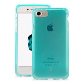 Caseco Clear Tough Case - Slim-Fit Protection - iPhone 7/6S/6 - Teal