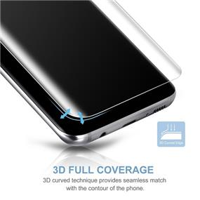 Vmax 3D Full Cover Tempered Glass for Samsung S8 Plus