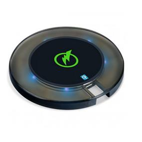 Digipower Wireless Charging Pad for Qi Smartphones w/ 2.1 A Wall Charger and 3.3 ft Micro USB Cable
