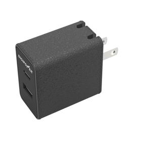 Digipower 2-Port USB-A and USB-C Wall Charger (CT-AC3) - Black