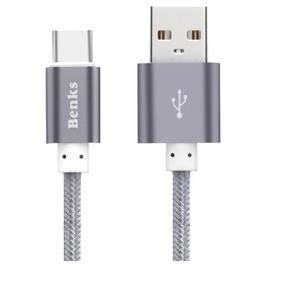 Benks  Type C Cable 1M Grey