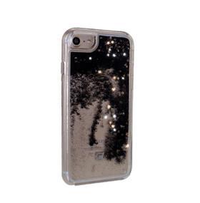 Caseco Moving Glitz Case - iPhone 6/6S/7 - Stars in Black