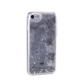 Caseco Moving Glitz Case - iPhone 6/6S/7 - Silver Sparkles