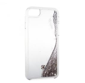 Caseco Moving Glitz Case - iPhone 6/6S/7 Plus - Silver Sparkles