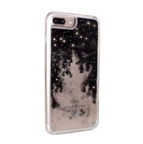 Caseco Moving Glitz Case - iPhone 6/6S/7 Plus - Stars in Black