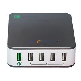 KOPPLEN 5 PORT USB HOME CHARGER (QUALCOMM 3.0)