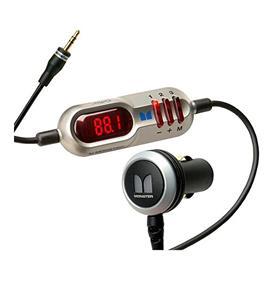Monster Mobile RadioPlay 300 (MBL MBL-FM XMTR300 EFS) Wireless FM Transmitter