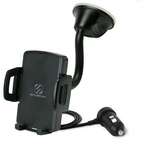 Scosche Wireless Charging Universal Window/Dash Mount - StuckUp Qi