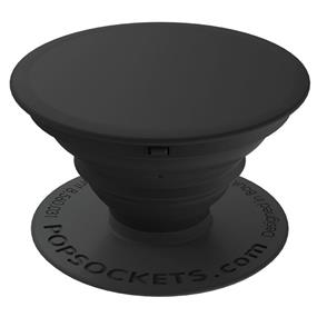 PopSockets Expanding Stand and Grip for Smartphones and Tablets - Black