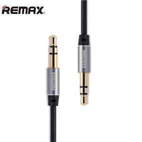 REMAX 3.5mm AUX cable L100- 1m - Black